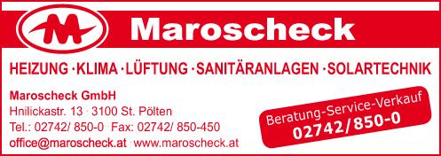 Werbung Maroscheck GesmbH
