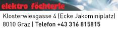 Werbung Elektro Föchterle GmbH