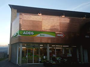 Logo ADEG Beer - Wolfgang Beer