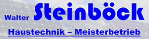 Logo Steinböck Walter - Haustechnik - Meisterbetrieb