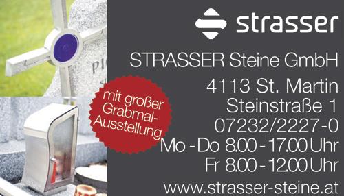 Werbung STRASSER Steine GmbH