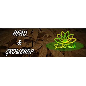 Logo Jackflash Head- & Growshop