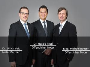 Logo Öffentliche Notare Festl, Raeser & Partner