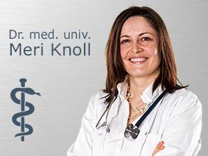 Logo Knoll Meri Dr. med. univ. Fachärztin für Psychiatrie und Psychotherapeutische Medizin