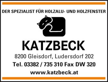 Werbung Katzbeck FensterGmbH Austria