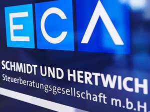 Logo ECA Schmidt und Hertwich Steuerberatungsgesellschaft m.b.H.