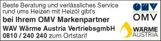 Werbung WAV Wärme Austria VertriebsgmbH Region West-Salzburg