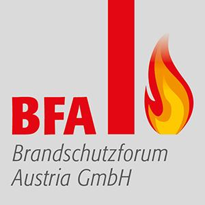 Logo BFA Brandschutzforum Austria GmbH