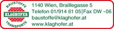 Werbung Klaghofer Rudolf GmbH