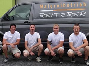 Logo Malereibetrieb Reiterer