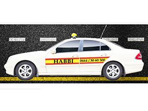 Logo HABBI TAXI Gasthaus-Taxi-Trafik