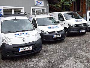 Logo Haustechnik WOLF, Sanitär- u. Heizungsanlagenbau