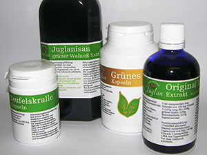 Logo JUGLAN GmbH Naturprodukte