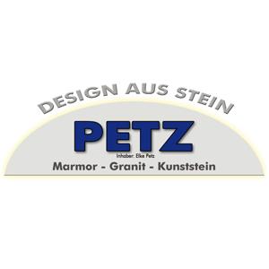 Logo Petz Johann Design aus Stein
