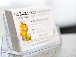 Logo Dr. Ladislaus Baranowitz