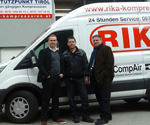 Logo RIKA Kompressoren GmbH - Stützpunkt Kärnten