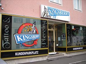 Logo KINGSBERRY Tattoo & Piercing