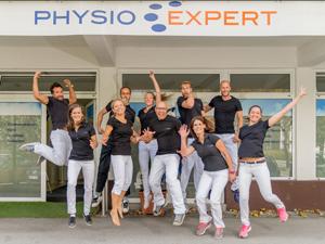 Logo PhysioExpert Qualität für Gesundheit,Physiotherapie,Osteopathie