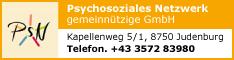 Werbung PSN Psychosoziales Netzwerk gemeinnützige GmbH