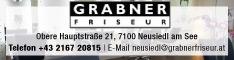 Werbung GRABNER FRISEUR