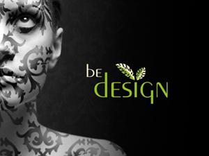 """Logo """"be-design"""" Atelier für Grafik und Webdesign"""