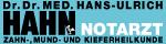 Werbung Hahn Hans Ulrich Dr.med.univ, Dr.med.dent