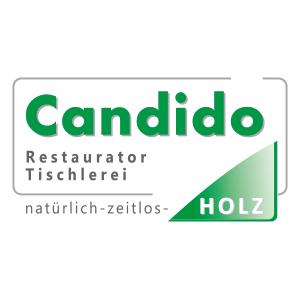 Logo CANDIDO GERHARD - Möbelmanufaktur - MEISTERWERKSTÄTTE f. Möbel-staatl. gepr. Restaurator im Handwerk