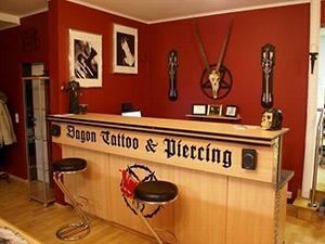 Logo Dagon Tattoo & Piercing - Fredy Halwax