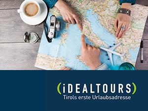 Logo IDEALTOURS Reisebüro GmbH