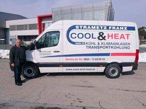 Logo COOL & HEAT Inh. Strametz Franz