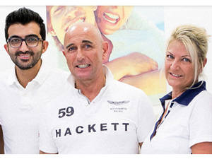 Logo WHITE SPA - Dr. Doris Leukauf, Dr. Michael Leukauf, Dr. Behfar Basharat
