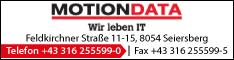 Werbung MOTIONDATA Software GmbH