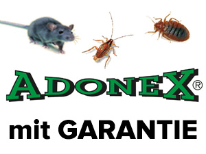 Logo ADONEX GmbH - Schädlingsbekämpfung