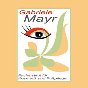 Logo Fachinstitut für Kosmetik und Fußpflege - Gabriele Mayr