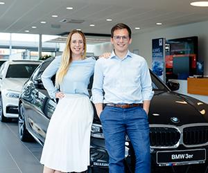 Logo BMW J. Harmtodt Handels- und Kfz.-