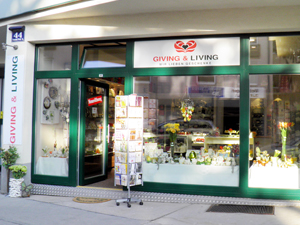 Logo GIVING & LIVING - Geschenkboutique