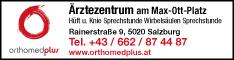 Werbung orthomedplus Dr. Drekonja & Dr. Kiss