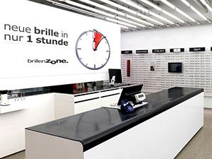 Logo Brillenzone - Neue Brille in nur 1 Stunde