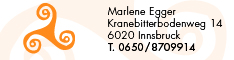 Werbung Egger Marlene
