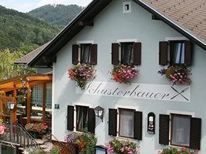 Logo Gasthaus - Gästehaus Schusterbauer