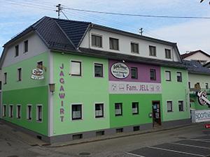 "Logo Gasthof ""Jagawirt"" Fam. Jell ***Zimmer"