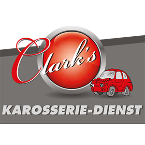 Logo Clark's Karosserie Dienst