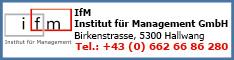 Werbung IfM - Institut für Management GmbH