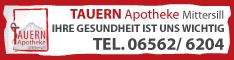 Werbung Tauern-Apotheke Mittersill Mag. pharm. Astrid Brandstetter KG