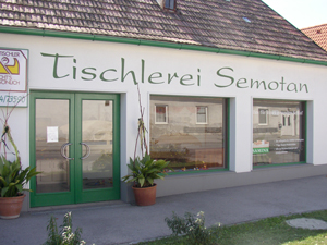 Logo Tischlerei Semotan OG