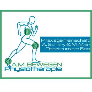 Logo A.M. BEWEGEN Physiotherapie - Praxisgemeinschaft A. Schary & M. Mair