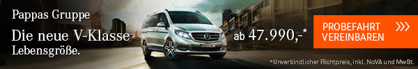 Werbung Georg Pappas Automobil GmbH