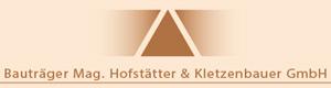 Logo Bauträger Mag. Hofstätter & Kletzenbauer GmbH