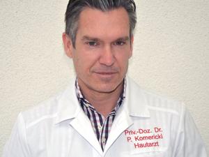 Logo Doz. Dr. med. univ. Peter Komericki