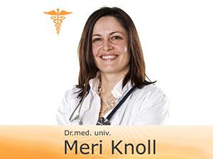 Knoll Meri Dr. med. univ. Fachärztin für Psychiatrie und Psychotherapeutische Medizin